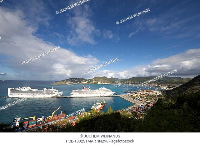 Sint Maarten, Philipsburg, Cruise pier and Terminal