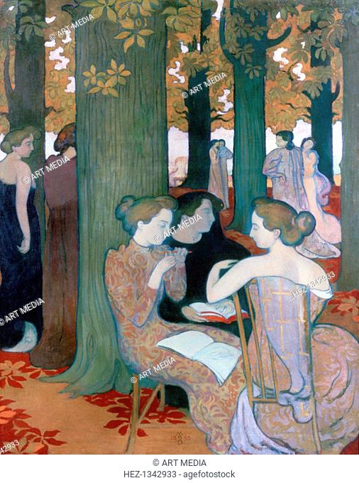 'The Muses', 1893. Found in the collection of the Musee d'Orsay, Paris, France. ARTIST'S COPYRIGHT MUST ALSO BE CLEARED