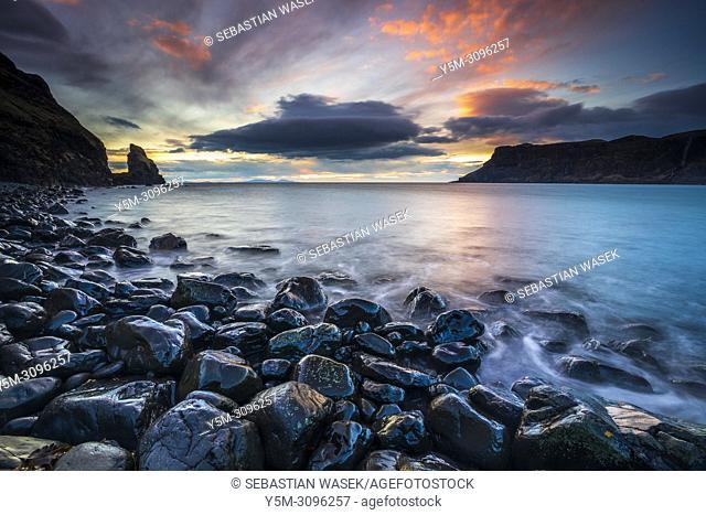 Talisker Bay, Isle of Skye, Inner Hebrides, Scotland, United Kingdom, Europe