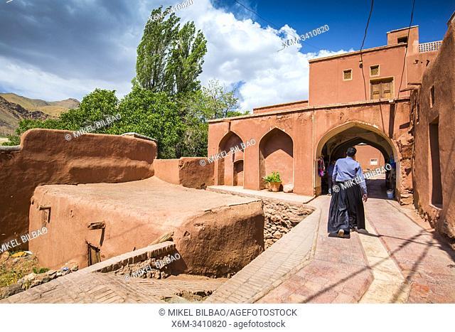 Street view. Abyaneh village. Iran, Asia