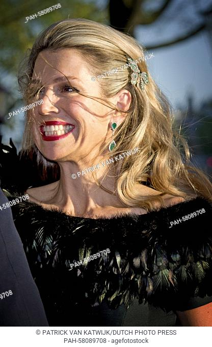 Queen Maxima of The Netherlands attends the liberation concert on the Amstel river in Amsterdam, The Netherlands, 5 May 2015
