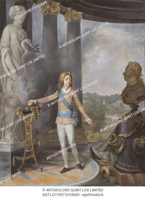 Niclas Lafrensen, King Gustav II Adolf, King Gustav IV Adolf of Sweden Sacrifices to Hygia for his Father's Health, Gustav IV Adolf sacrifices Hygiene for his...