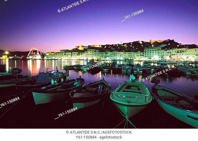 Porto Azzurro. Elba Island. Italy