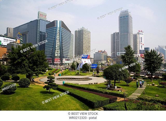 Hunan, Changsha, Lotus Square