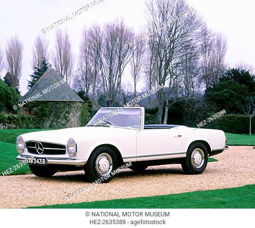 1964 Mercedes Benz 230SL. Artist: Unknown