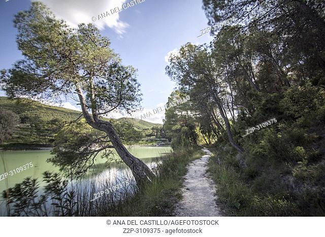 El Bosquet reservoir L Olleria Valencian community. Spain