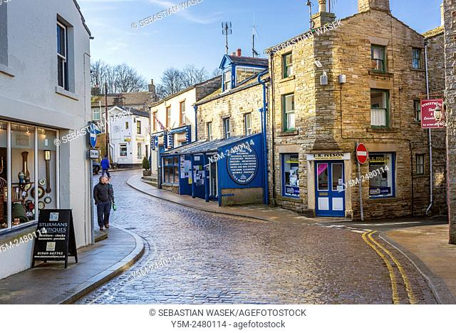 Hawes a small market town and civil parish in the Richmondshire district of North Yorkshire, Yorkshire Dales National Park, England, United Kingdom, Europe