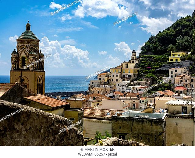 Italy, Campania, Amalfi Coast, Sorrento Peninsula, Amalfi, Cathedral of Sant'Andrea