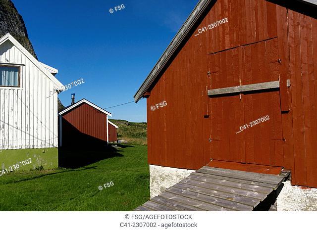 Traena, Nordland. Norway