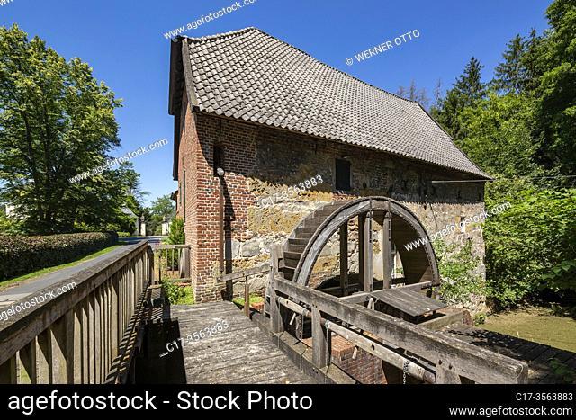 Huenxe, Gartrop-Buehl, D-Huenxe, D-Huenxe-Gartrop-Buehl, Lippe, Lower Rhine, Muensterland, Ruhr area, Hohe Mark Westmuensterland Nature Park, Rhineland