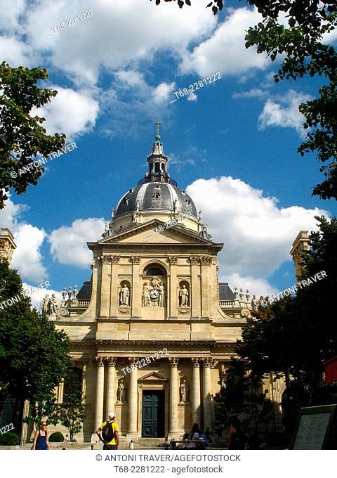Church of the Sorbonne, Paris, France