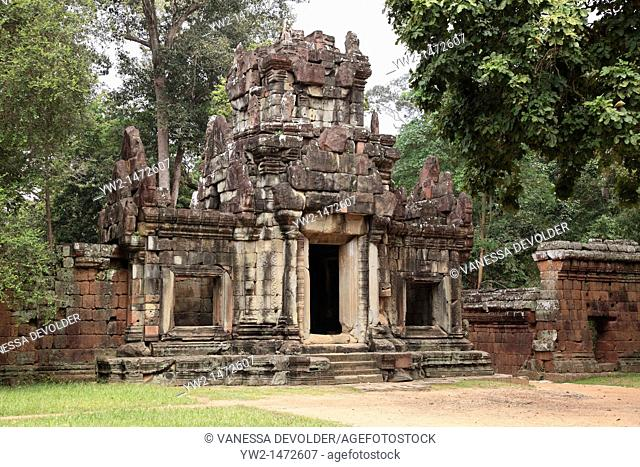 Phimeanakas temple at Angkor in Cambodia