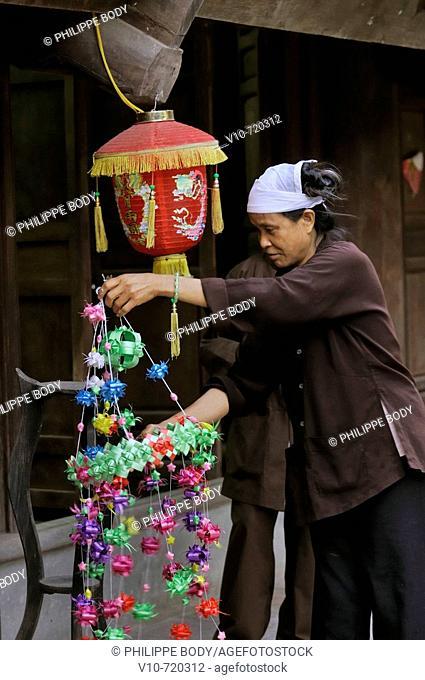Keo pagoda - Chua Keo - built in 12th century, Thai Binh, Vietnam