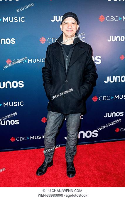 2018 JUNO Awards, held at the Rogers Arena in Vancouver, Canada. Featuring: Nick Fiorucci Where: Vancouver, British Columbia