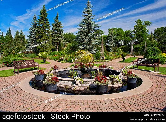 English Gardens. Assiniboine Park Winnipeg Manitoba Canada