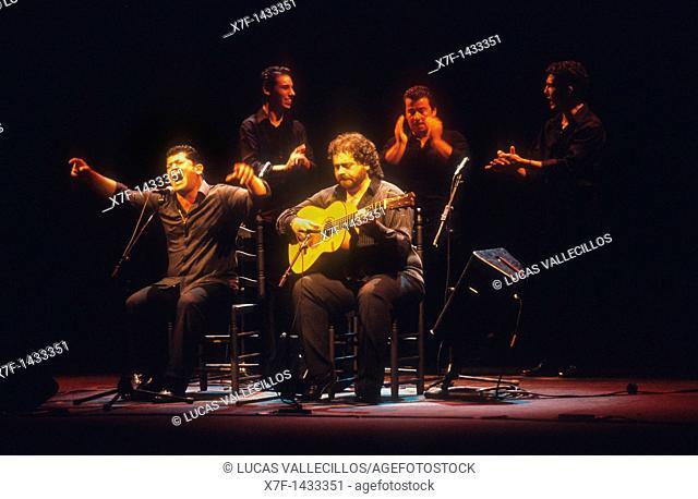 Tomás de Perrate  Flamenco Singer  Lope de Vega theatre  Seville, Andalusia, Spain