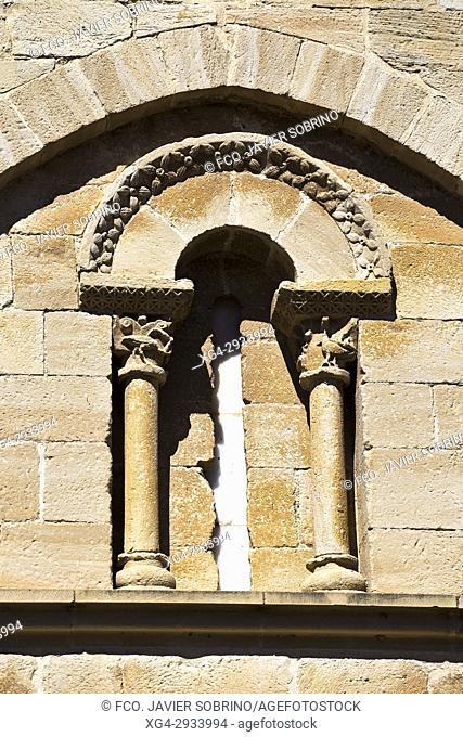 Iglesia románica del Santo Sepulcro. Torres del Río. Provincia de Navarra. Spain