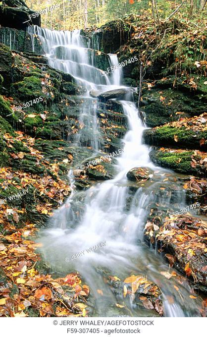 Turkey Creek Falls. Cherokee National Forest. Tennessee. USA