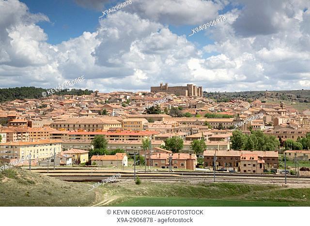 View of Siguenza, Guadalajara, Spain