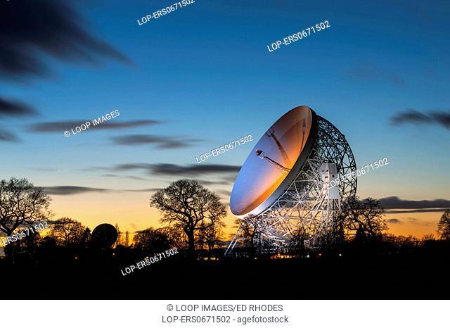 The Lovell Radio Telescope at Jodrell Bank