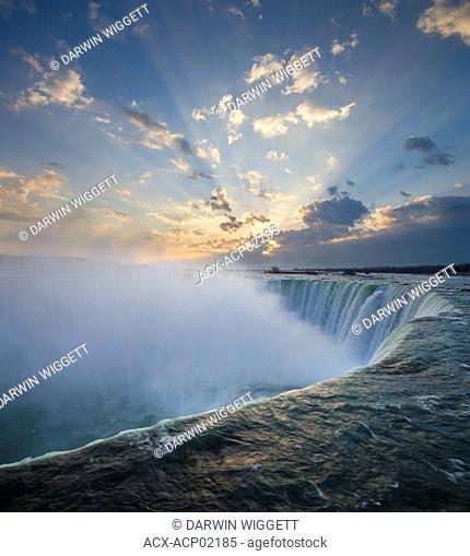 Horseshoe Falls at Table Rock - Niagara Falls, Ontario, Canada