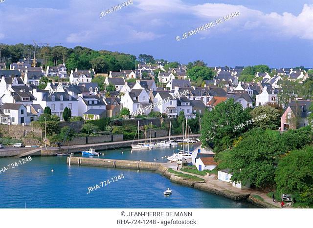Port of Le Bono, Golfe du Morbihan Gulf of Morbihan, Brittany, France, Europe