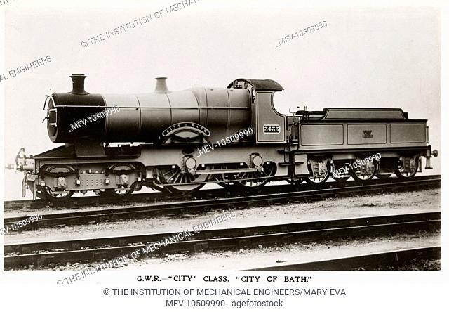 Locomotive no 3433 City of Bath