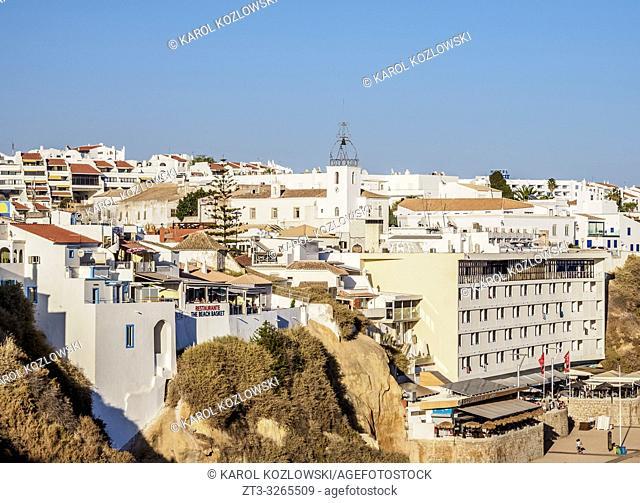 Albufeira Cityscape, Algarve, Portugal