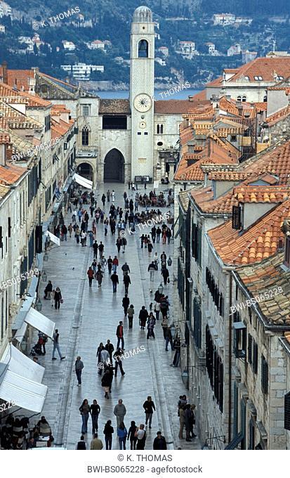 UNESCO World Heritage, Dubrovnik, Croatia, Southern Dalmatia, Dubrovnik