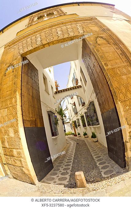 Casa del Indiano, Calleja del Indiano, Old Town, Córdoba, Andalucía, Spain, Europe