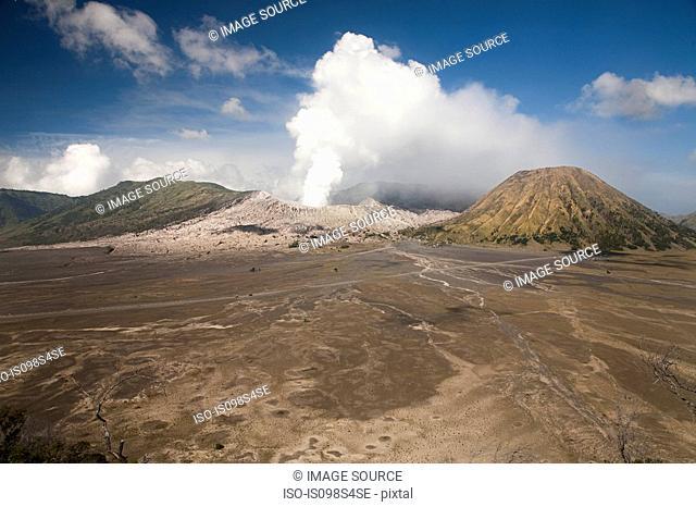 Mount bromo volcano in java