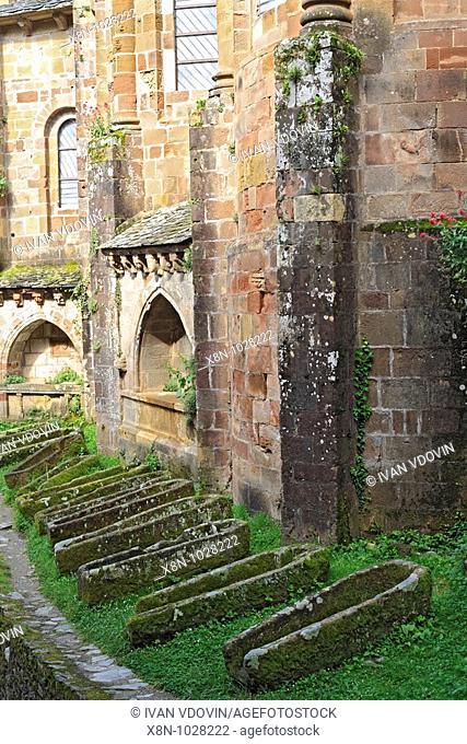 Sainte-Foy abbey-church 1124, Conques, France