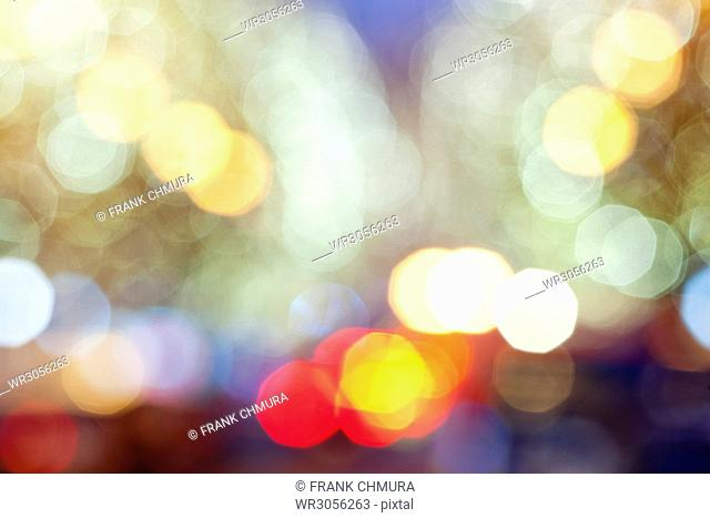 Abstract Blurred Background with Bokeh.&#10