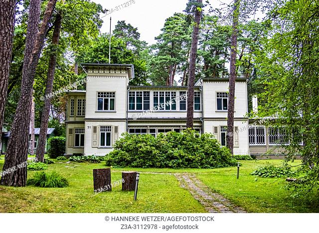 House in the forest of Jurmala, Latvia, Europe