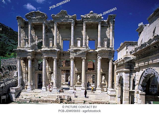 Library of Celsus, ruins of Ephesus