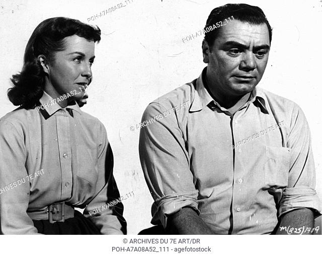 Marty  Year: 1955  Director: Delbert Mann Ernest Borgnine, Betsy Blair  Palme d'Or Cannes 1955. WARNING: It is forbidden to reproduce the photograph out of...