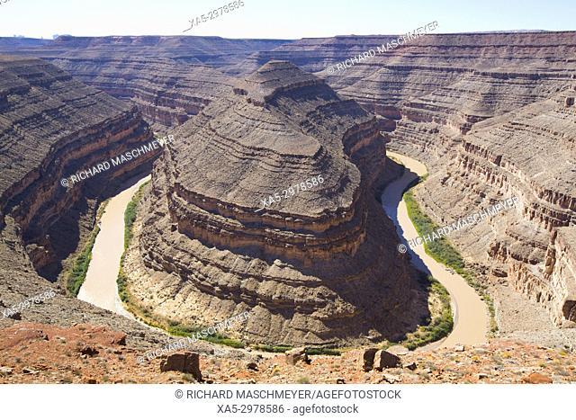 San Juan River, Goosenecks State Park, Utah, USA