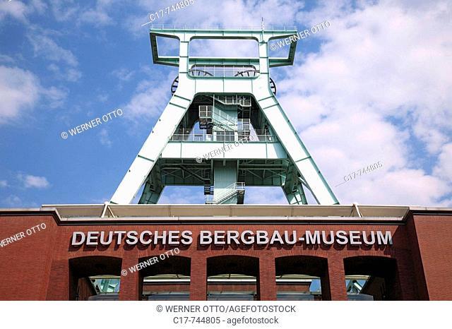 Germany, Bochum, Ruhrgebiet, Nordrhein-Westfalen, NRW, Deutsches Bergbau-Museum, Forschungsinstitut fuer Montangeschichte