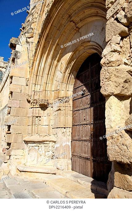 Santes Creus Monastery Part Of The Cistercian Route, Tarragona Catalonia Spain