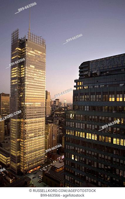 New York Times Building, Midtown Manhattan, Nyc, USA