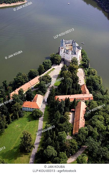 East Europe, Czech republic, South Bohemia, Orlik castle
