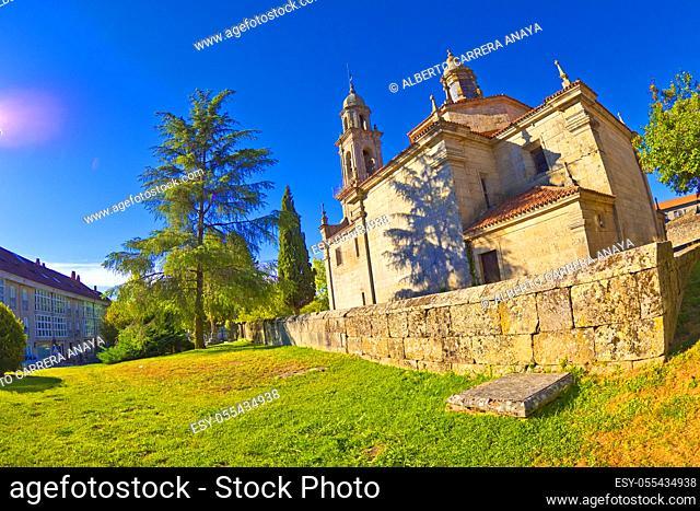Church of San Esteban, Church of Santo Estevo, 12-13th Century Romanesque Style, Allariz, Orense, Galicia, Spain, Europe