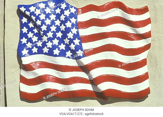 Sculpted American Flag, United States