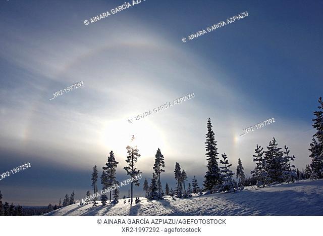 Sky in Finland