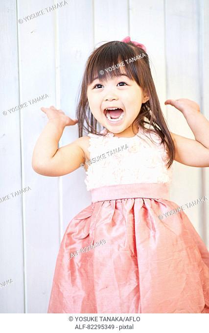 Japanese kid studio photo shoot