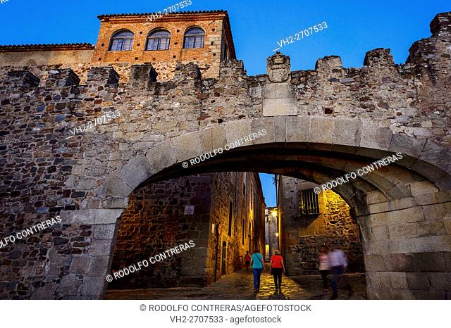 Arco de la Estrella (Arch of the Star), Cáceres