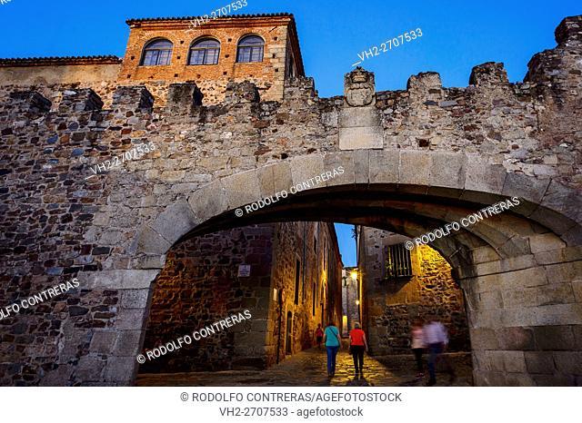 Arco de la Estrella (Arch of the Star), Cáceres