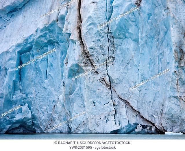 14th of July Glacier, Spitsbergen Island, Svalbard, Norway