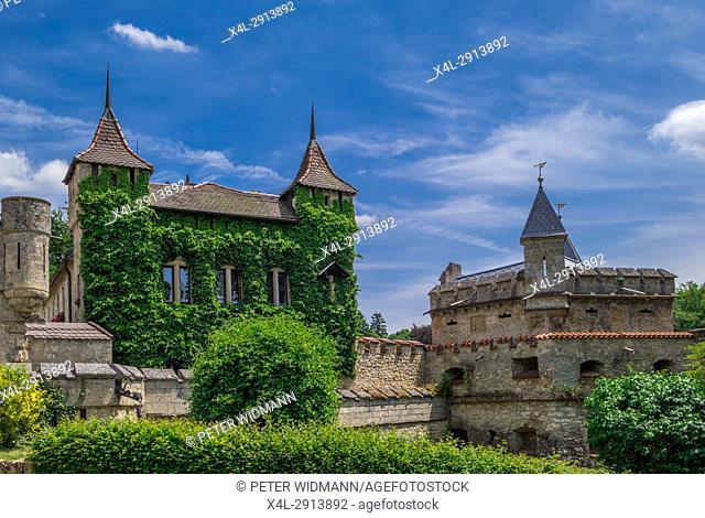 Schloss Lichtenstein Castle, Honau, Baden-Wurttemberg, Germany, Europe