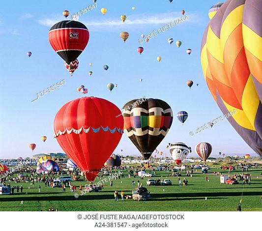 Hot air balloon festival, Albuquerque. New Mexico, USA